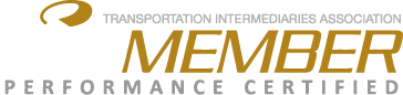 Transportation Intermediaries Association Member - Performance Certified